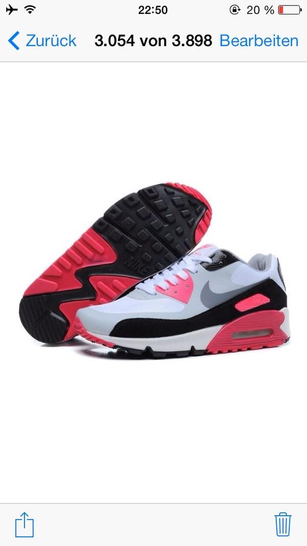 shoes pink nike air max