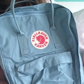 bag,kanken,pretty,tumblr,backpack,fashion,style,grunge,hipster,school bag,blue
