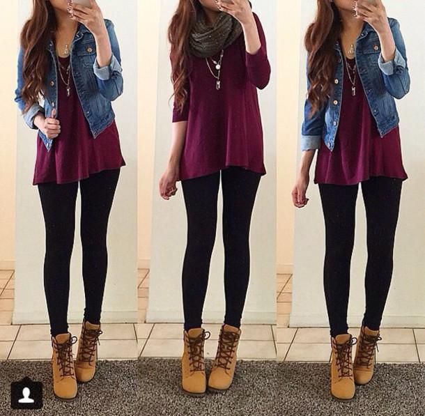 aaf31678cc blouse shoes shirt cute outfit leggings scarf jean jaket cardigan jacket