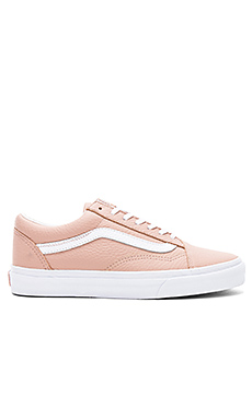 7d6b4e44a532 Vans Tumble Leather Old Skool DX Sneaker in Mahogany Rose ...