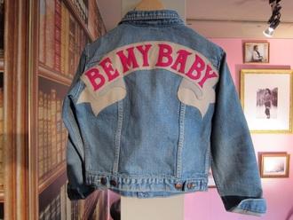 jacket jeanjacket grunge jean jacket blue jeans