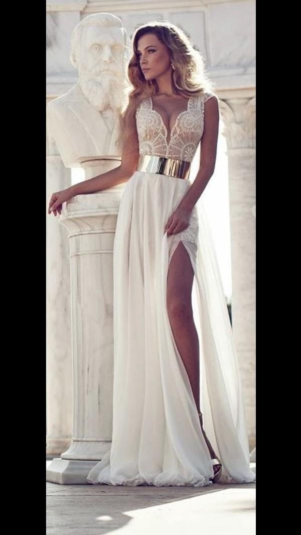Вечернее платье на свадьбу 2015