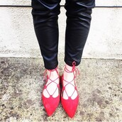 shoes,red,lace-up shoes