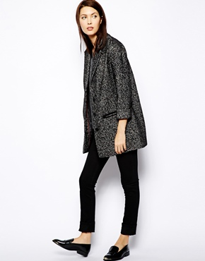 Warehouse | Warehouse Oversized Boyfriend Coat at ASOS