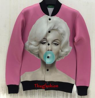 marilyn monroe jacket custom