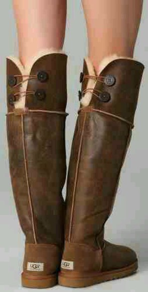 buttons ugg boots