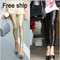 Free shipping womens 2012 fashion ladies shiny gold black sequin embossed high quality spangle glitter leggings legging-in leggings from apparel & accessories on aliexpress.com | alibaba group