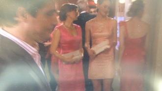 dress pink pink light gossip girl dress glamourous