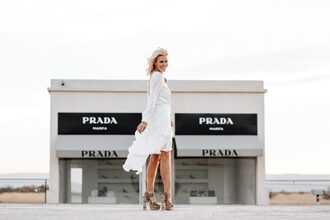 the courtney kerr blogger dress shoes jewels sandals high heel sandals white dress summer dress summer outfits