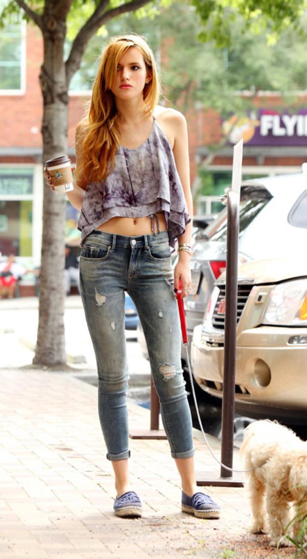 Jeans Bella Thorne Wheretoget