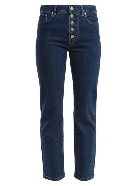 Joseph jeans cropped jeans cropped dark blue dark blue