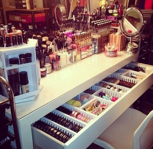 Nail Polish Dresser Make up Makeup Table Wheretoget