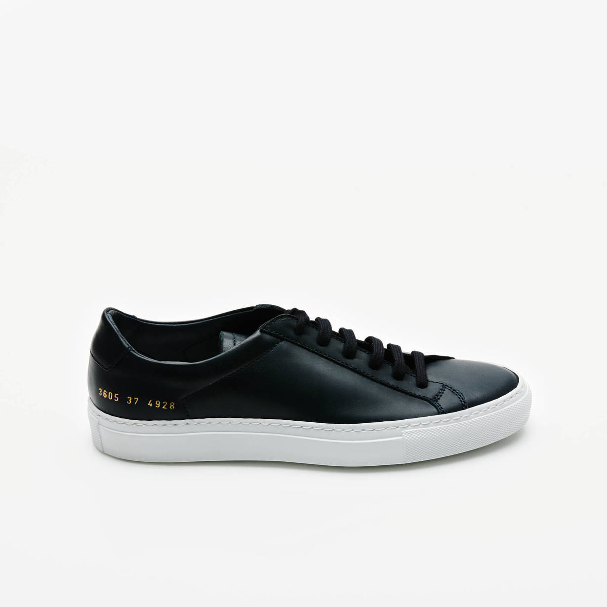 Woman by Common Projects — Original Vintage Low   Navy — THE LINE
