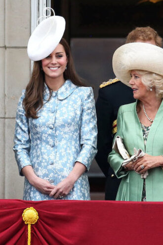 coat hat kate middleton dress