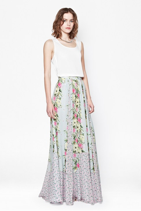 Desert Tropicana Maxi Skirt - Skirts - French Connection Usa