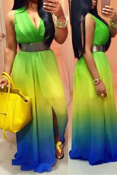 dress, zaful, curvy, plus size, yellow, summer - Wheretoget