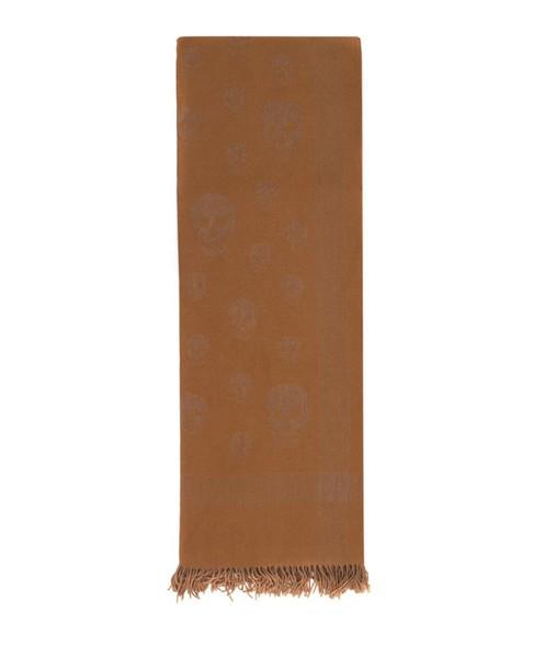 scarf wool beige