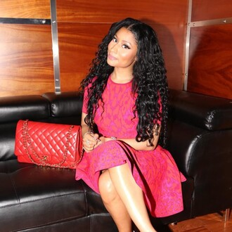 dress red dress nicki minaj summer dress
