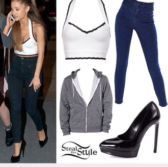 shoes ariana grande top