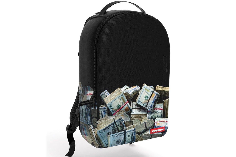 Amazon.com: sprayground money rolled baller hundred book bag backpack: clothing