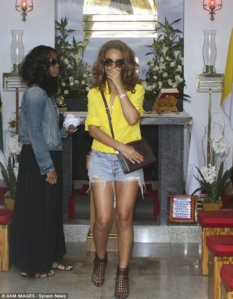 blouse yellow top rihanna summer shoes