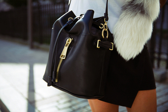 bag black accessories black bag gold fashion