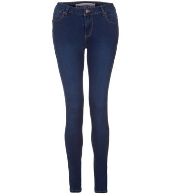 Dark Blue Supersoft Skinny Jeans