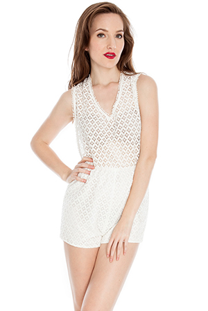Crochet Playsuit