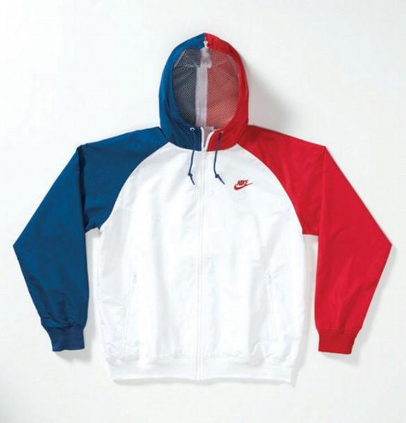 b00ed8213daf jacket windbreaker tricolor nike vintage windrunner 80s style 90s jacket