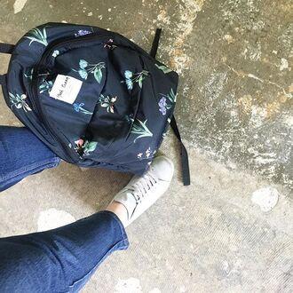bag yeah bunny backpack accessories flowers