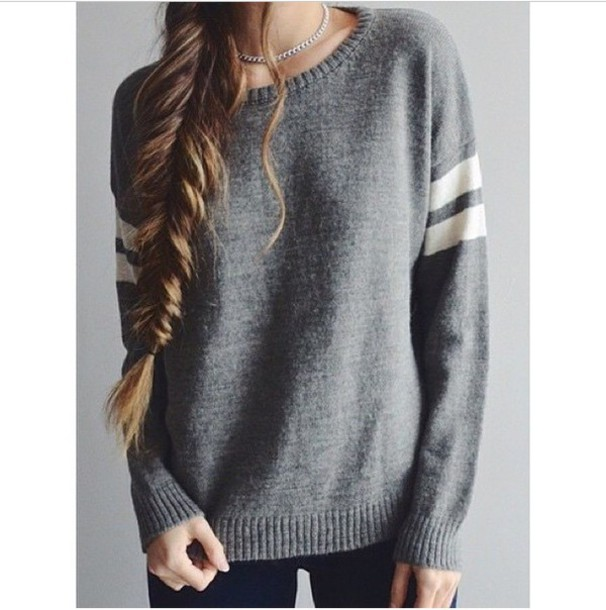 sweater grey sweater oversized sweater