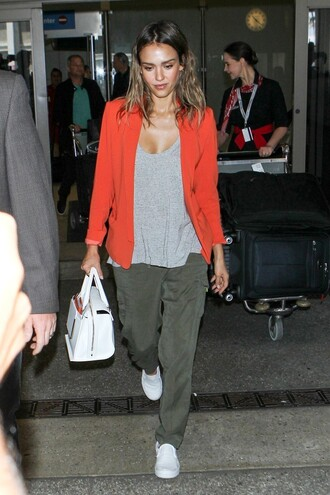 jacket jessica alba shoes pants