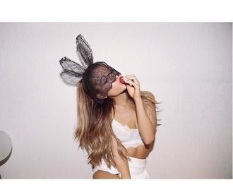 hair accessory bunny headband hair ariana grande bunny ears rabbit ears