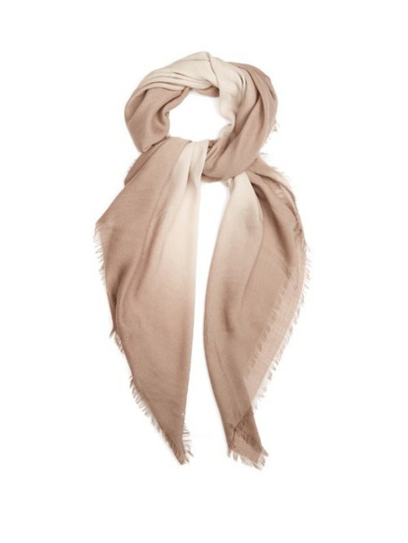 Bottega Veneta scarf wool beige