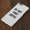 Ok but first coffee iphone 6 case/plus/5s/5c/5 dual layer durable tough case #750 - acyc