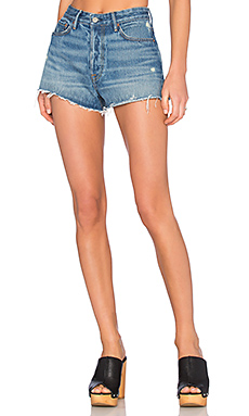 GRLFRND Cindy High-Rise Cut Off Short en Nobody Does it Better from Revolve.com