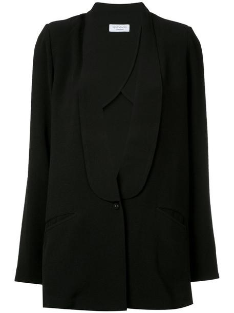 Hofmann Copenhagen blazer women spandex black jacket
