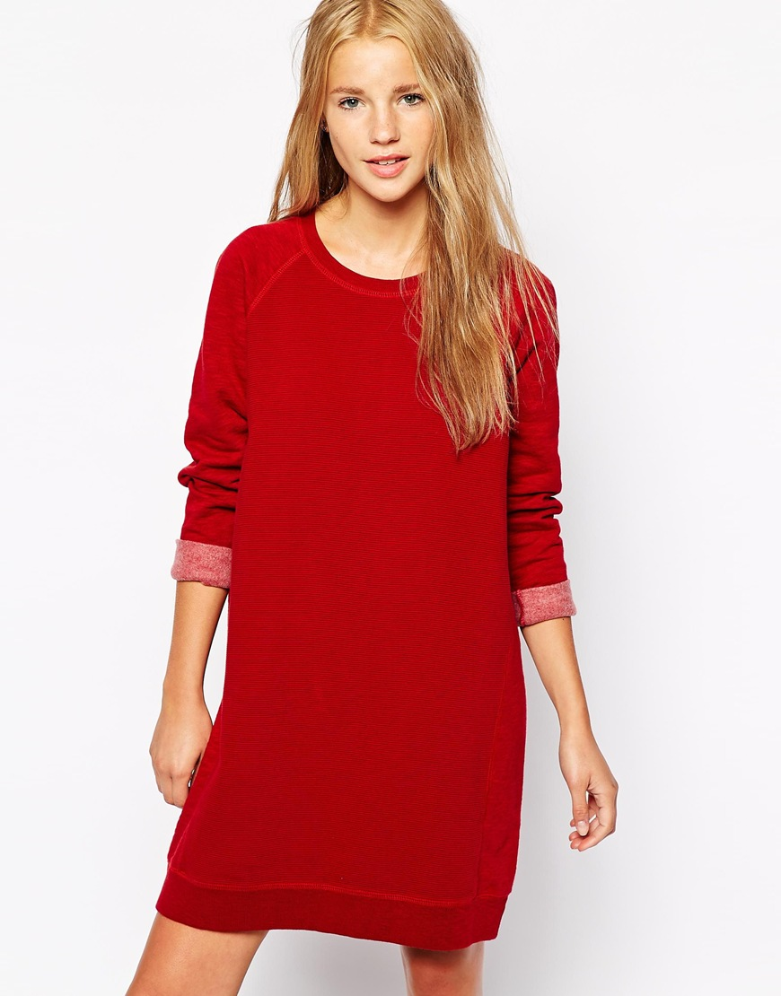 Jack Wills Sweatshirt Dress at asos.com