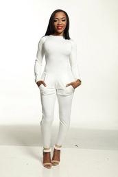 jumpsuit,romper,b.allen designs,517622,white romper