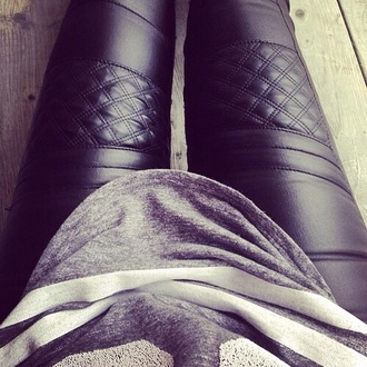pants leather jeans leather pants