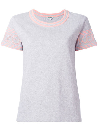 t-shirt shirt women cotton grey top