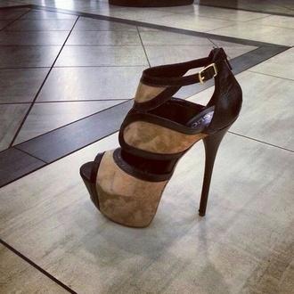 shoes high heels black high heels brown high heels
