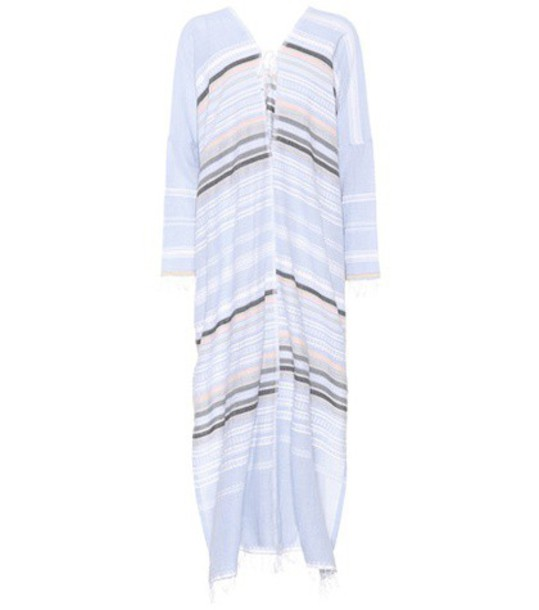 LemLem dress striped dress cotton blue