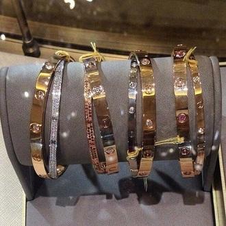 jewels jewelry bracelets stacked bracelets gold gold bracelet bling