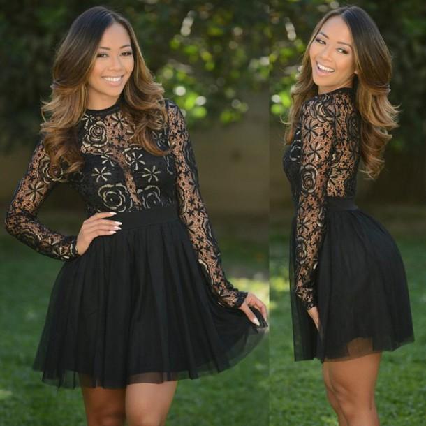 dress lace dress mini dress