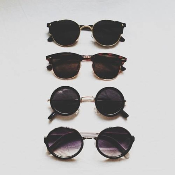 black and gold clubmasters  ray ban sunglasses black gold