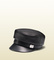 Leather driver cap 354366cta0n1000