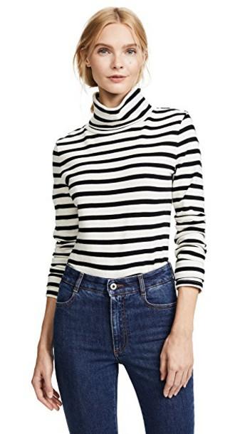 Veronica Beard Jean pullover turtleneck black sweater