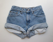 ALL SIZES Vintage HERCULES Levis High Waisted Denim by MintThreads