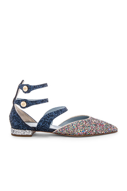 Chiara Ferragni Pointy Ankle Sandal in blue